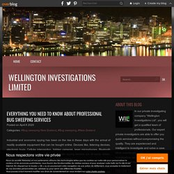 Everything you need to know about professional bug sweeping services - Wellington Investigations Limited