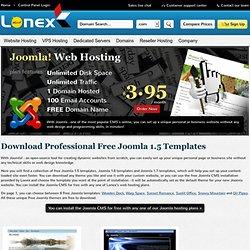 professional FREE Joomla templates
