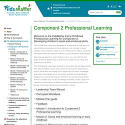 Component 2 Professional Learning