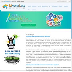 Professional Web designing Services by Magnetlead – Web design Company in Dublin, Ireland