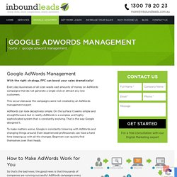 Professional Google AdWords Management Sydney