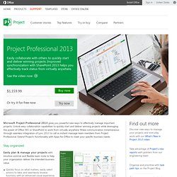 Professional Project Management Desktop Software | Project Professional