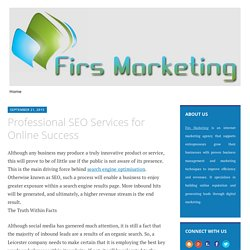Professional SEO Services for Online Success