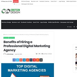 Benefits of Hiring a Professional Digital Marketing Agency