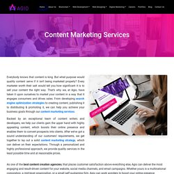 From Top Content Marketing Companies in India