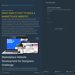 Professional Marketplace Website Development