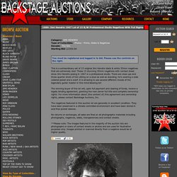1089: Jimi Hendrix 1967 Lot of 15 B/W Professional Studio Negatives With Full Rights - Store - Backstage Auctions, Inc.