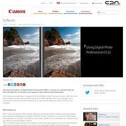 Using Digital Photo Professional (3.2)