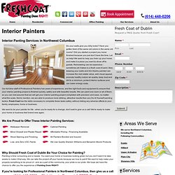 Professional Interior Painters in Dublin and Northwest Columbus, OH