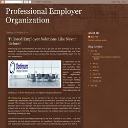 Tailored Employer Solutions Like Never Before!