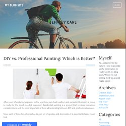 DIY vs. Professional Painting: Which is Better?
