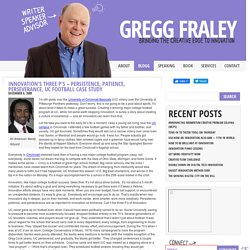 Gregg Fraley, Author of Jack's Notebook » Blog Archive » Innovat