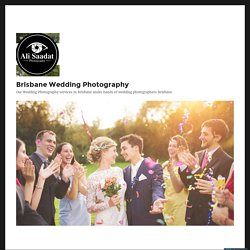 Reasons You Must Choose Professional Wedding Photographers – Brisbane Wedding Photography