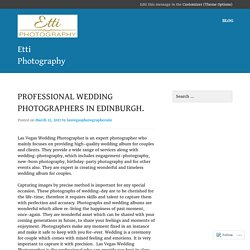 Wedding photography by creative photographers in Las Vegas