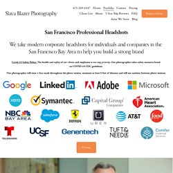 Professional Photographers & Corporate Headshots San Francisco Bay Area