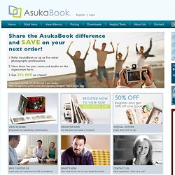 Custom Coffee Table Photo Books and Wedding Albums for Professional Photographers | AsukaBook USA