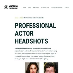 Professional Actor Headshot in London, Professional Headshots