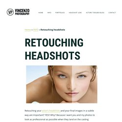 Retouching Headshots, Professional Retouching Headshots