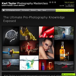 Professional Photography Courses by Karl Taylor Photography