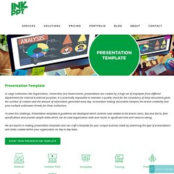 Professional PowerPoint Presentation Template Designs Company