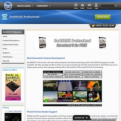 DarkBASIC Professional - Games Programming - The Game Creators