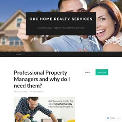 Oklahoma City Property Management Services