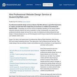 Website Design Service at QueenCityWeb.com