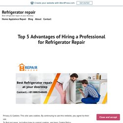 Top 5 Advantages of Hiring a Professional for Refrigerator Repair – Refrigerator repair