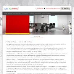 Professional House Painter Reservoir 3073