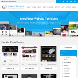 30+ Business professional free Wordpress Themes with Responsive slider for Startups