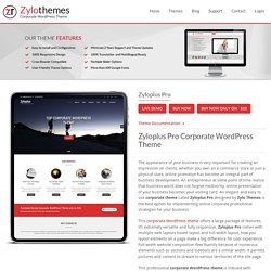 How To Get Top Professional Corporate WordPress Theme Of High Responsiveness