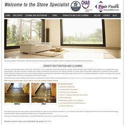 Granite - Professional Natural Stone restoration Company In UK