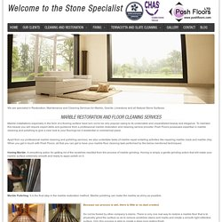 Marble - Professional Natural Stone restoration Company In UK