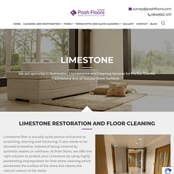 Limestone - Professional Natural Stone restoration Company In UK