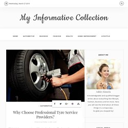 Professional Tyre Service Providers