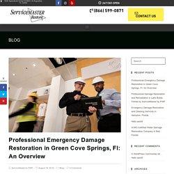 Professional Emergency Damage Restoration in Green Cove Springs, Fl
