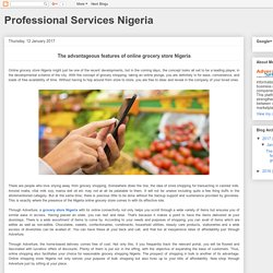 The advantageous features of online grocery store Nigeria