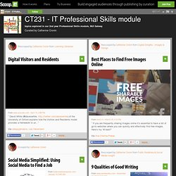 CT231 - IT Professional Skills module