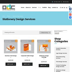 Professional Corporate Stationery Design Services