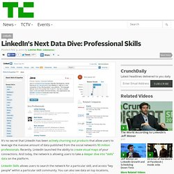 LinkedIn's Next Data Dive: Professional Skills