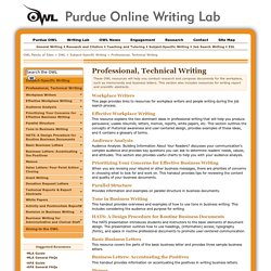 Professional and technical writing companies