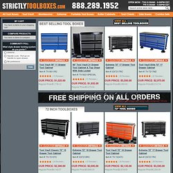 Professional Tool Boxes - Portable Tool Boxes, Tool Chests & Roller Cabinets for Mechanics and other Professionals