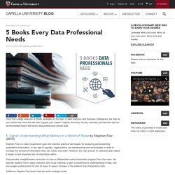 5 Books Every Data Professional Needs
