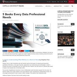 5 Books Every Data Professional Needs