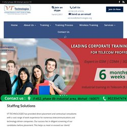 Professional Staffing Solutions Haryana - VTTechnologies