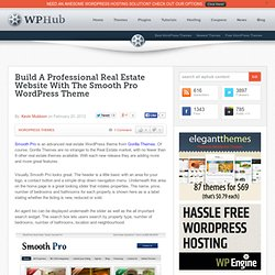 Build A Professional Real Estate Website With The Smooth Pro WordPress Theme