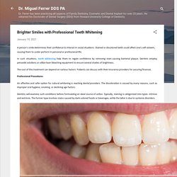 Brighter Smiles with Professional Teeth Whitening