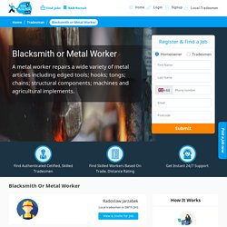 Professional Metal Worker – Find a Blacksmith