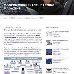 The Modern Professional Learner's Toolkit – Modern Workplace Learning Magazine