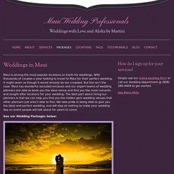 Getting married in Hawaii Maui - Maui Wedding Planners